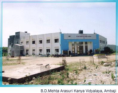 Arasuri Kanya Vidyalaya, Ambaji