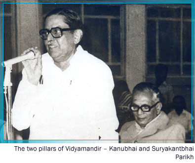 Kanubhai and Suryakantbhai Parikh