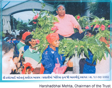 Harshadbhai Mehta, Chairman of the Trust