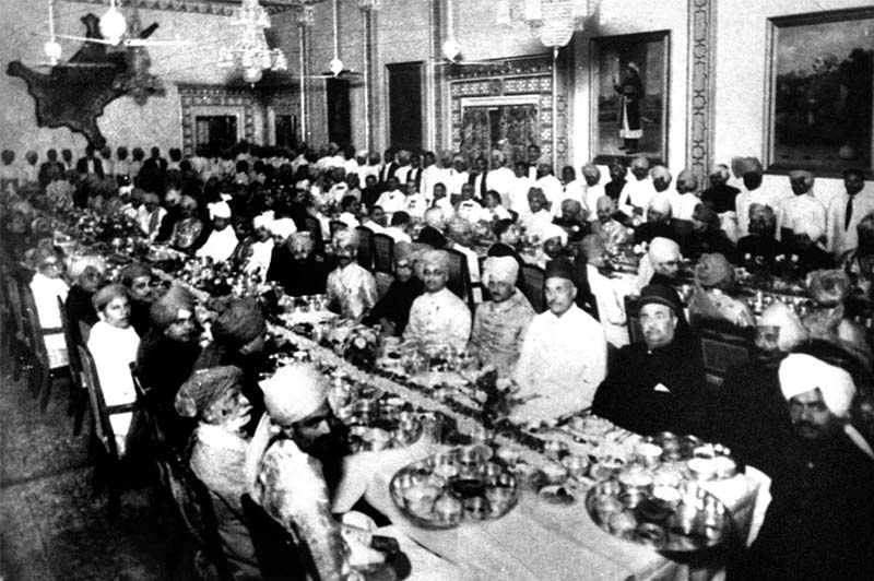 Banquet Marriage of Nawabzada Iqbal Mohammad Khan Palanpur (1936)
